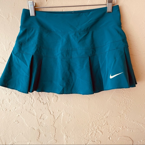Nike Tennis Golf Skort Skirt Shorts Teal Size XS
